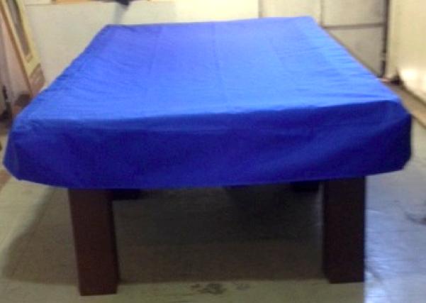 Funda para mesa de pool impermiable color azul